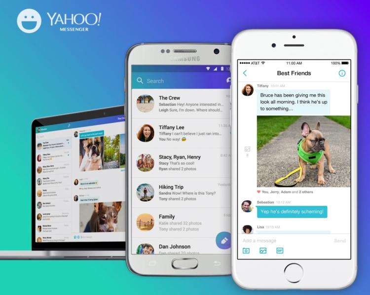 Мессенджер Yahoo прекратит работу 17 июля