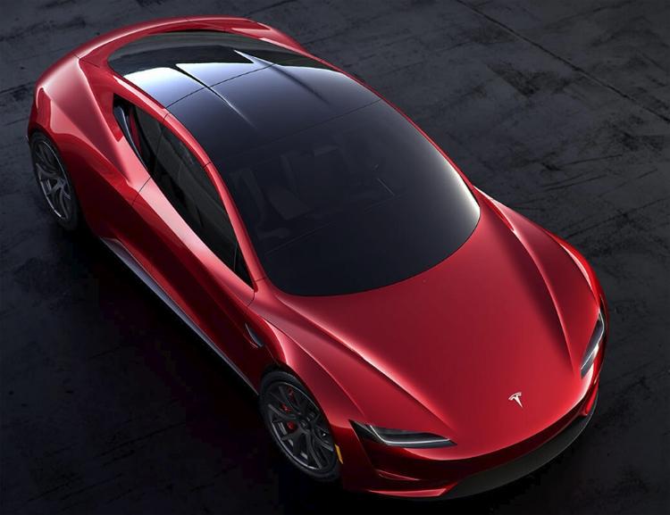 """Пакет опций SpaceX превратит спорткар Tesla Roadster в «ракету»"""""""