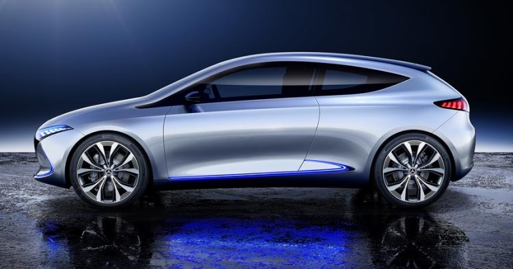 """Электрохетчбэк Mercedes-Benz EQA готовится ударить по позициям Tesla Model 3"""""""