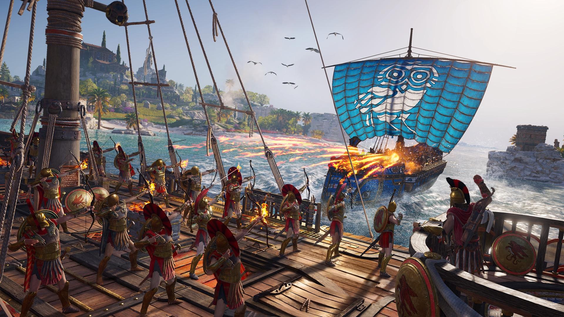 ПодробностиAssassin's Creed Odyssey, геймплейный трейлер и дата релиза