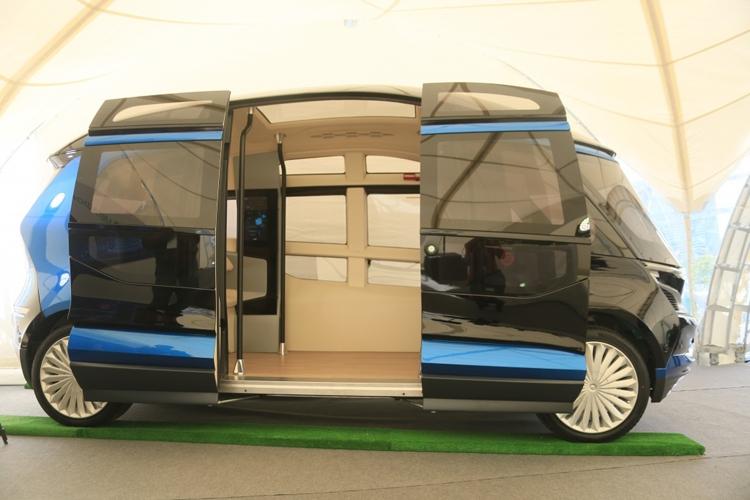 """Показан прототип самоуправляемого электробуса «КАМАЗ» с поддержкой 5G"""""""