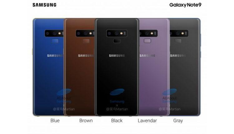 "Galaxy Note 9: ожидаемые характеристики флагманского фаблета Samsung"""
