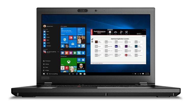 "Ноутбук Lenovo ThinkPad P52 подходит для работы с VR-шлемами"""