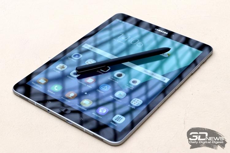 """Планшет Samsung Galaxy Tab S4 сможет узнавать пользователей по глазам"""""""