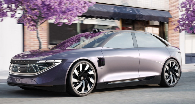 "Byton K-Byte Concept: электрический седан с автопилотом"""