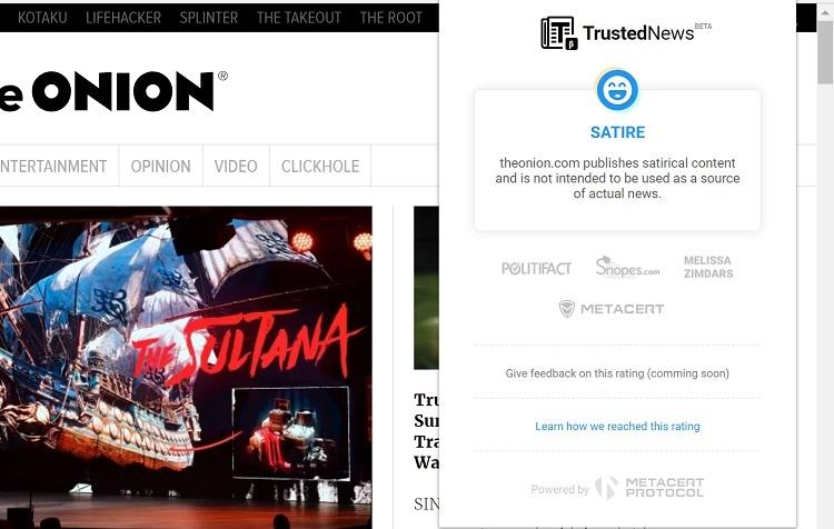 """Разработчик Adblock Plus выпустил браузерное расширение для борьбы с фальшивыми новостями"""""""
