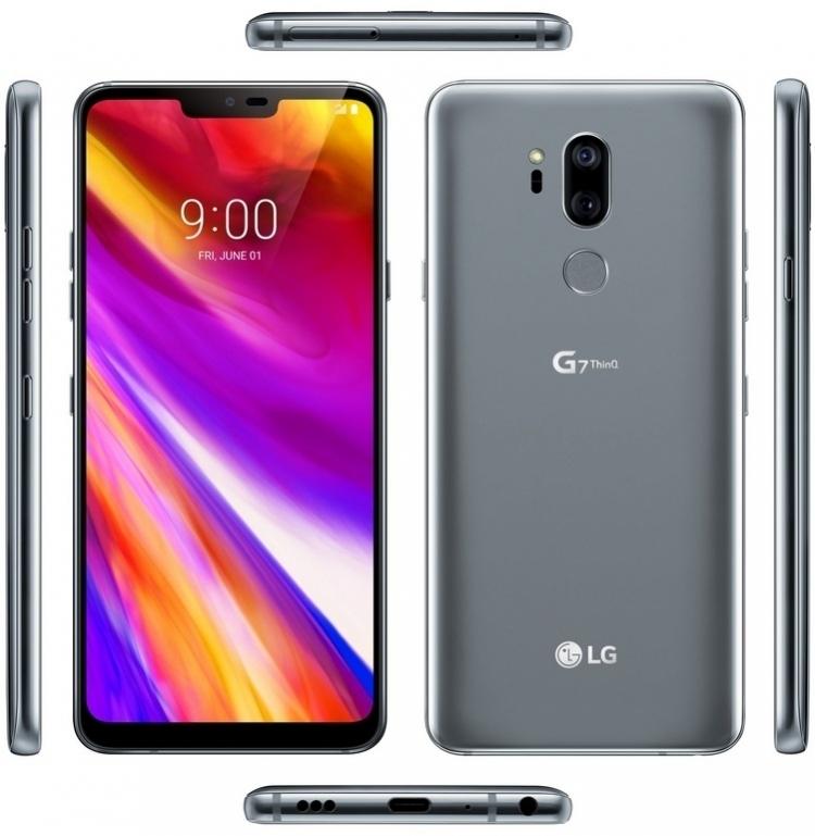 Обзор камеры LG G7 ThinQ