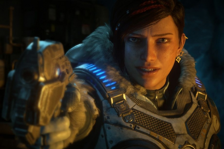 Кейт Диаз, героиня игр Gears of War 4 и 5