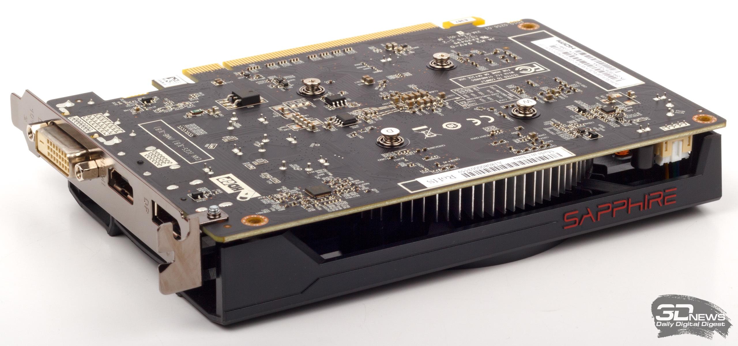 Обзор видеокарты SAPPHIRE PULSE Radeon RX 550 на GPU Polaris