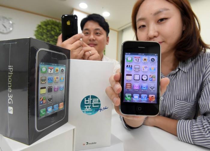 """Apple iPhone 3GS вернулся на корейский рынок спустя 9 лет"""""""