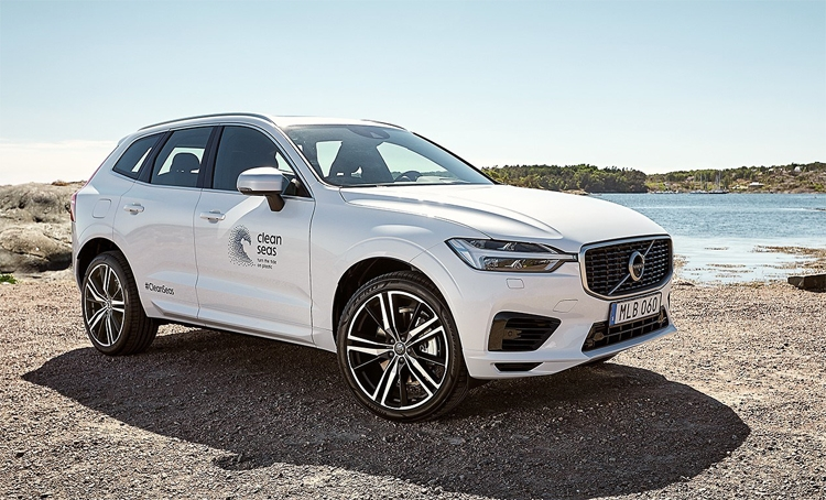 """Volvo начнёт активно использовать детали из переработанного пластика"""""""
