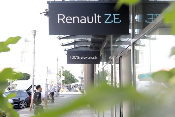 """Renault открыла концептуальный шоурум для электромобилей в Берлине"""""""