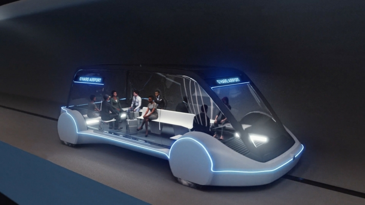 "Boring Company испытала Model X в своём тоннеле под Лос-Анджелесом"""