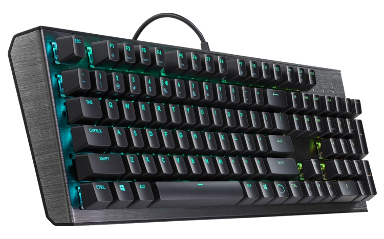 """Cooler Master CK550: механическая клавиатура с индивидуальной подсветкой кнопок"""""""