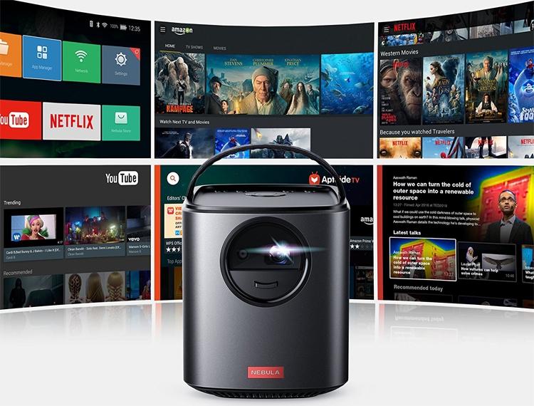 """Anker Nebula Mars II: портативный проектор «всё в одном» на базе Android 7.1"""""""