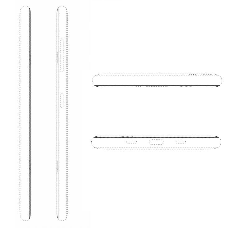 """В Samsung запатентован дизайн смартфона с дисплеем на обратной стороне"""""""