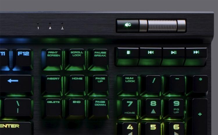 "Для клавиатуры Corsair K70 RGB MK.2 доступны переключатели пяти типов"""