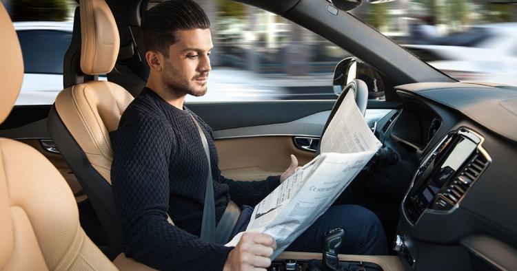 """В 2021 году Volvo начнёт выпуск XC90 с системой автономного вождения Level 4"""""""