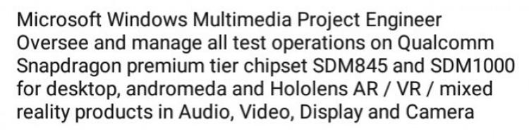 """Microsoft изучает возможность применения чипа Snapdragon 1000 в самых разных устройствах"""""""