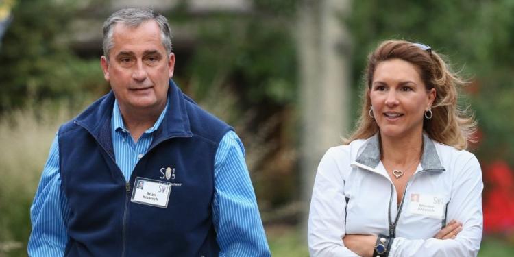 Бывший исполнительной директор Intel Брайан Кржанич и его жена Бранди (Скотт Олсон / Getty Images)