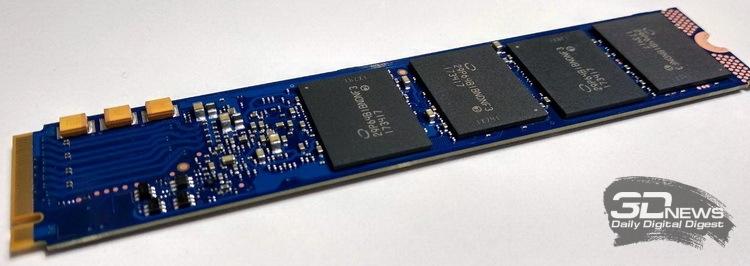 У Intel SSD DC P4801X развитая система питания