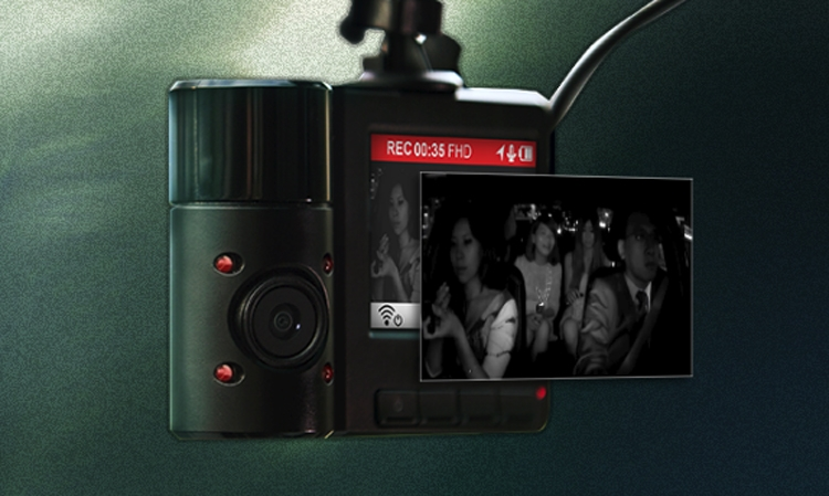 """Автомобильный видеорегистратор Transcend DrivePro 550 снабжён двумя объективами"""""""