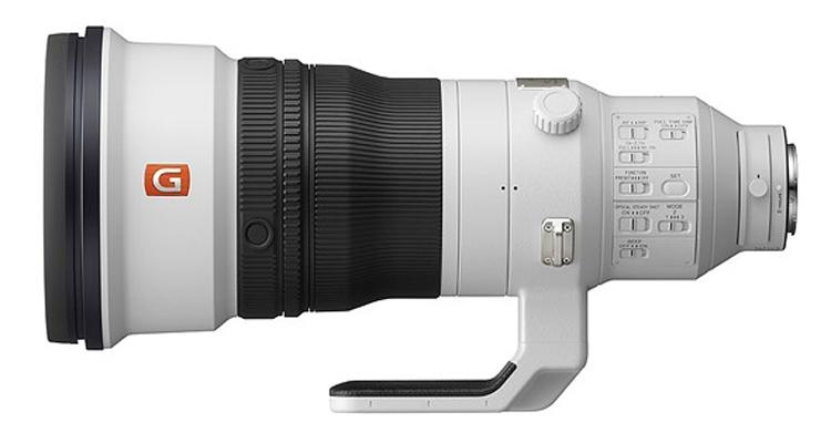 """Супертелефото-объектив Sony FE 400mm F2.8 GM OSS оценён в $12 000"""""""