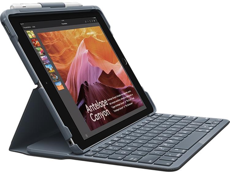 """Logitech выпустила чехлы-клавиатуры Slim Combo и Slim Folio для нового планшета iPad"""""""