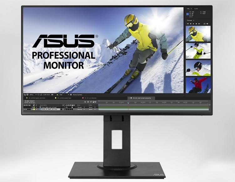 """Монитор ASUS PB247Q имеет 100 % охват цветового пространства sRGB"""""""