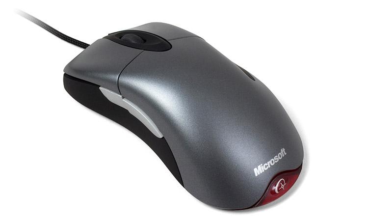 Microsoft IntelliMouse Explorer 3.0, выпущенная в 2003 году