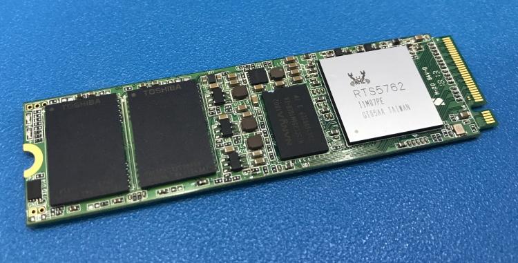 Прототип накопителя на базе Realtek RTS5762
