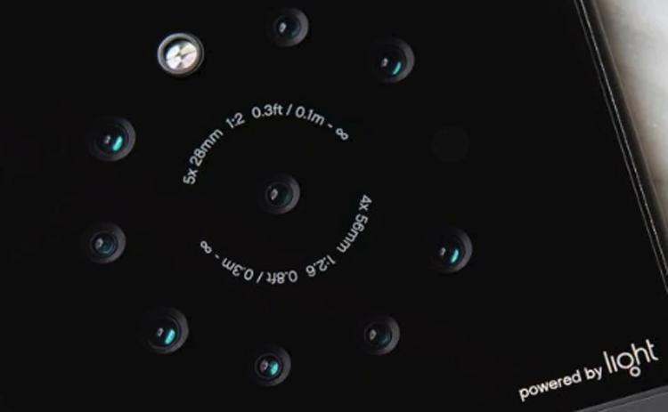 Компания Light создала прототип телефона сдевятью камерами
