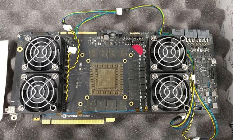 Инженерный семпл «GeForce GTX 1180 Ti» или аналогичного Quadro