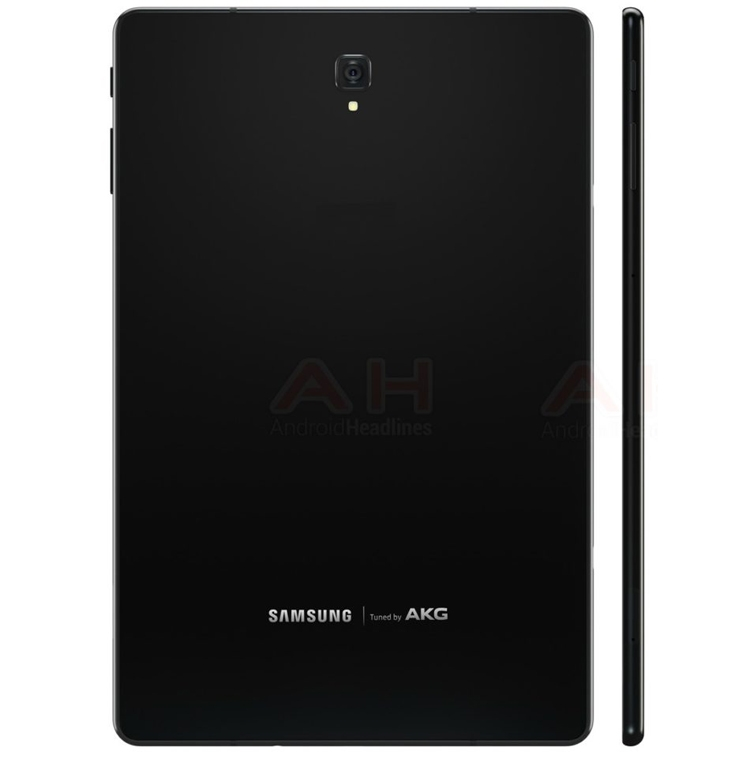 "Планшет Samsung Galaxy Tab S4 предстал на рендерах"""