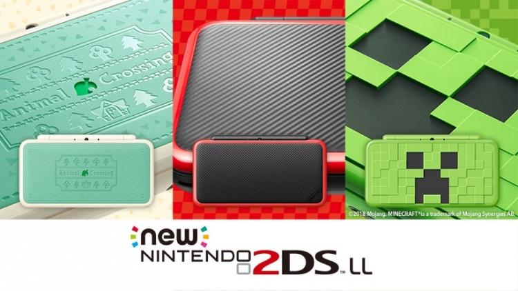 """Дружба Nintendo и Microsoft продолжилась выпуском New 2DS в стиле Minecraft"""""""