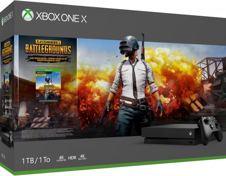 """В PUBG на Xbox One играют уже 8 млн людей, Microsoft выпустила особое издание консоли"""""""