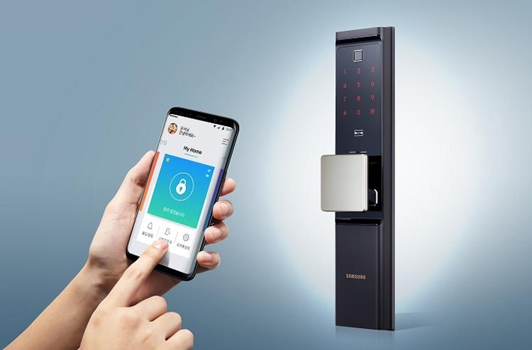 """Представлен «умный» дверной замок Samsung с поддержкой Wi-Fi"""""""