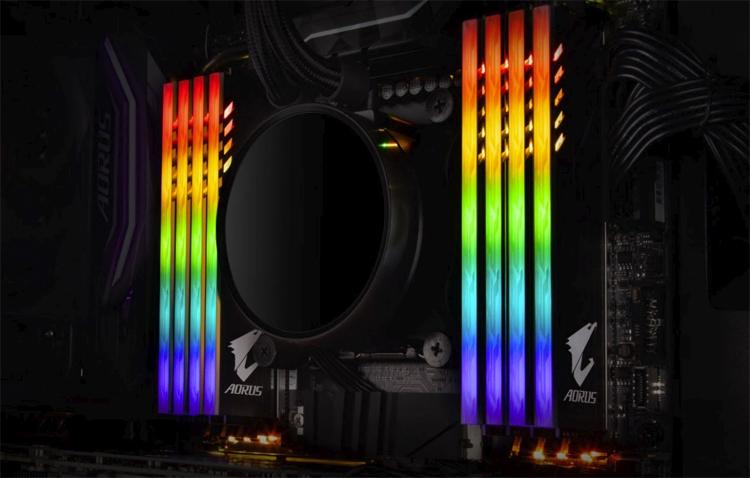 ao1 - GIGABYTE раскрыла характеристики игровой памяти Aorus RGB