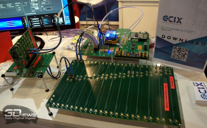 CCIX 1.0 Demo FPGA