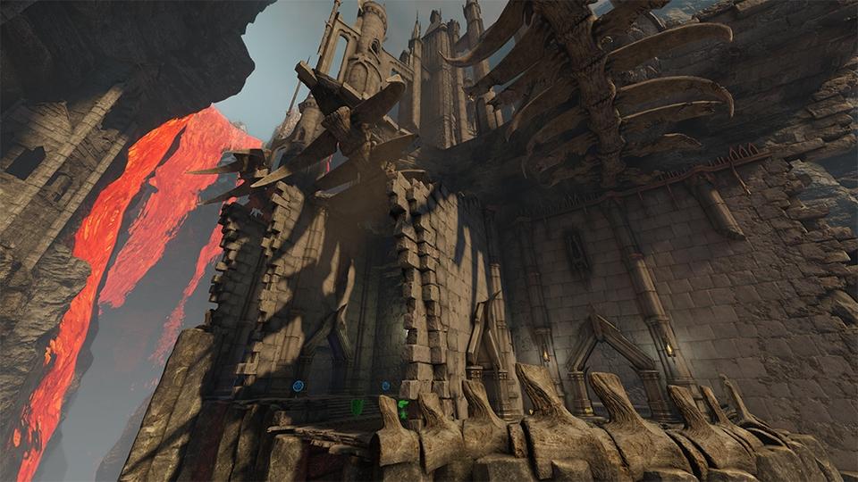 Новая арена, возможность сменить имя и правки в свежем обновлении Quake Champions