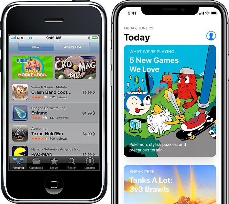 """Магазину приложений App Store — 10 лет"""""""