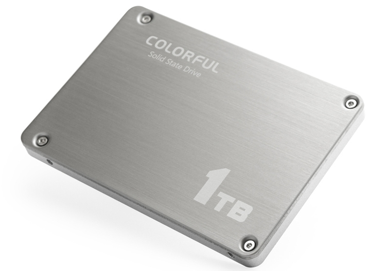 cf3 - Colorful SL500 Boost: SSD-накопитель вместимостью 1 Тбайт