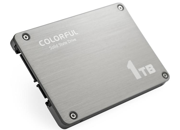 cf4 - Colorful SL500 Boost: SSD-накопитель вместимостью 1 Тбайт