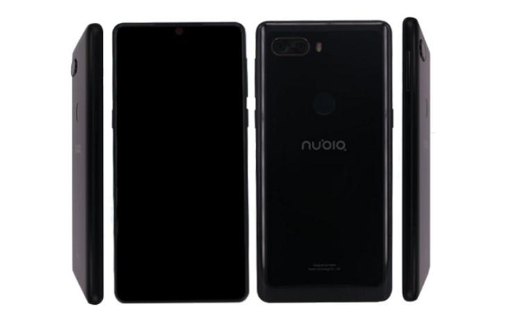 Бенчмарк раскрыл характеристики передового телефона Nubia Z18