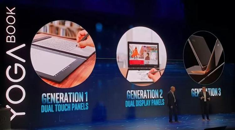 """Дебют ноутбука Lenovo Yoga Book 2 Pro ожидается на выставке IFA 2018"""""""