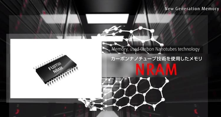 nram1 - Выпуск памяти Fujitsu NRAM на углеродных нанотрубках начнётся в 2019 году