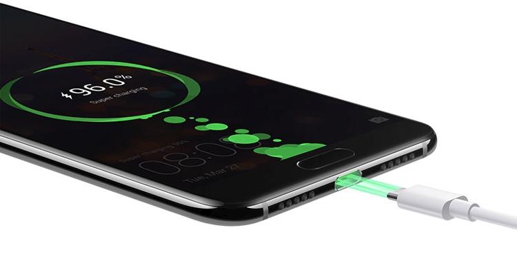 Мобильные телефоны Huawei можно будет зарядить за30 мин.