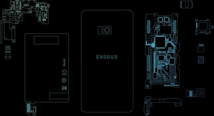 """Блокчейн-смартфон Exodus — рискованная ставка HTC, которая может окупиться"""""""