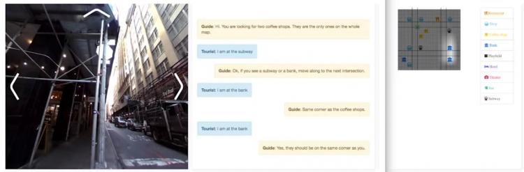 """Facebook отправила «бота-туриста» исследовать виртуальный Нью-Йорк"""""""