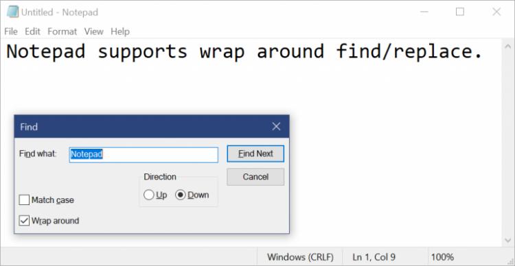 "Microsoft существенно обновит «Блокнот» в Windows 10"""